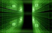 Binary Code, Internet Concept