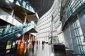 Tokyo, Japan - November 23, 2013 : Interior Of National Art Center In Tokyo, Japan
