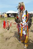 Unidentified Native American at the NYC Pow Wow