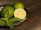 Lemon And Mint.