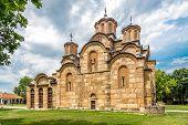 Gracanica Is A Serbian Orthodox Monastery Located In Kosovo.