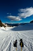 Ski Slope On Dolomiti, Italy