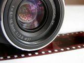 Camera Lens W/ Film