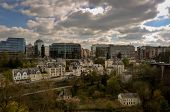 Downtown Luxembourg City