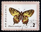 Postage Stamp Bulgaria 1962 Eastern Festoon, Butterfly