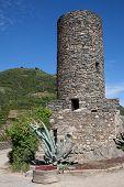 Doria Castle in Vernazza, Italy