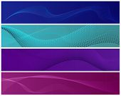 Abstract Modern Banners