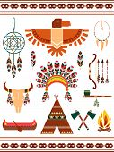 Aztec decorative elements