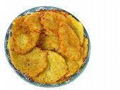 Delicious Potato Pancakes, Isolated On A White Background