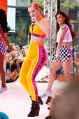 NEW YORK-AUG 8: Recording artist Iggy Azalea performs in concert at NBC's