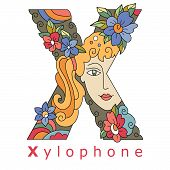 Letter X - Xylophone