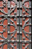 Ancient Doorway - Barcelona Spain