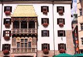 Golden roof in Innsbruck, Austria