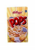 Box Of Kellogg's Corn Pops Cereal