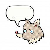 cartoon unhappy dog