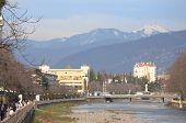 river Sochi in city with the same name, Krasnodar krai