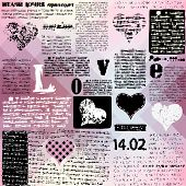 Valentines background.