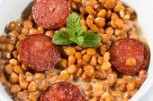 Lentils With Sausage