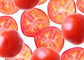 tomato. segments tomato