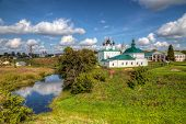 Beautiful View Of The City Of Suzdal. Russia