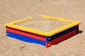 Child's sand-box.