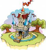 Fantasie-Burg