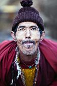 Portrait Of Lively Buddhist Monk, Nepal