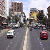 Plaza del Estudiante in La Paz, Bolivia