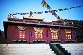 Buddhist Monastery Tsechen Kunga Choeling Gompa In Muktinath, Nepal