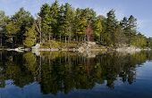 Wilderness Island Reflection