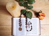 Bible/Rosary Beads