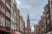 Old Town In Gdansk