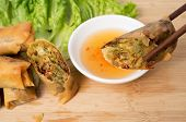 Vietnamese Vegeratian Egg Rolls, Cha Gio Chay