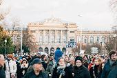 Mass Unity Rally Held In Strasbourg Following Recent Terrorist Attacks