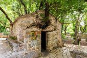 small Byzantine church of Saint Theodora
