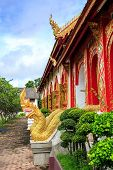 Wat Chet Yod Temple In Thailand