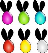 Easter Eggs With Ears