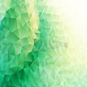 pic of parallelepiped  - Geometric background triangle with place for your text - JPG