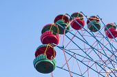 pic of ferris-wheel  - the Ferris wheel in the summer morning
