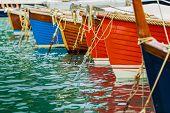 foto of marina  - Boats in the marina - JPG