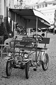 picture of pedal  - tourist cruise a pedal car for two riders - JPG