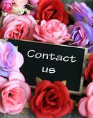 picture of soliciting  - contact us sign - JPG
