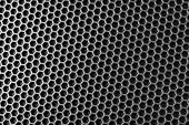 picture of speaker  - metal mesh of speaker grill texture - JPG