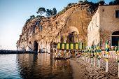 image of marina  - Cliffs at Marina di Cassano Piano di Sorrento - JPG