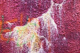 picture of hooligan  - Authentic textured background old wall hooligans stained with paint - JPG