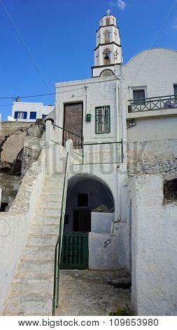 Traditional Greece Church In Exo