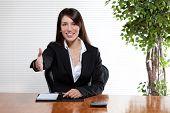 Handshake Business Woman