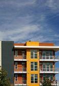 New colorful apartments (condo)