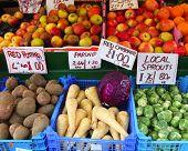 Fresh English Fruit And Veg poster