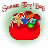 Santa's toy bag